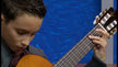Max Ramirez, age 9,  performs on television