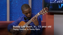 13 year old Bobby Lee Bush Jr. performs live on MDC's Our Talent, April, 25th 2014